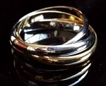 18Kt GF Finger Ring - 2Tone Magic Ring