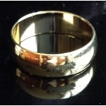 18Kt GF Finger Ring - Plain Style - GPR-003