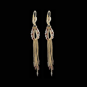 TriColor Fashion Earrings - Dangling - Style 1