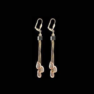 TriColor Fashion Earrings - Dangling - Style 4
