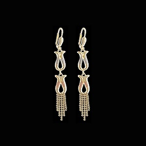 TriColor Fashion Earrings - Dangling - Style 6