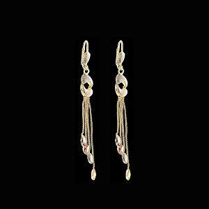 TriColor Fashion Earrings - Dangling - Style 7